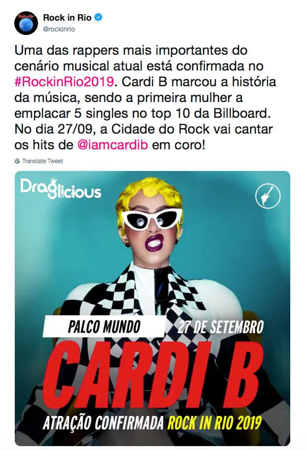 cardi-b-rock-in-rio-2019-draglicious-anuncio
